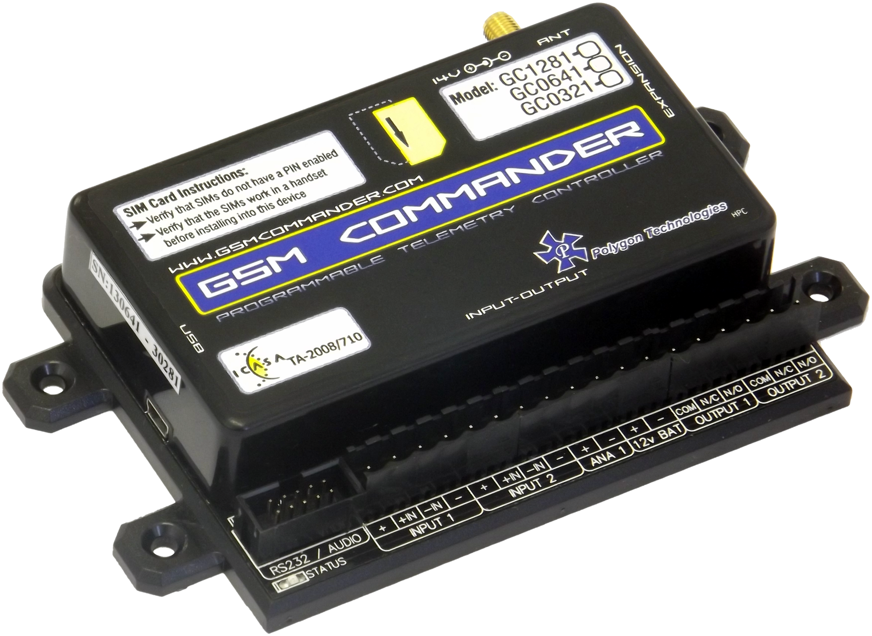 Irrigation Control Amp Monitoring With Gsm Commander